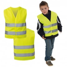 Kindersicherheitsweste EN 1150:1999 - gelb