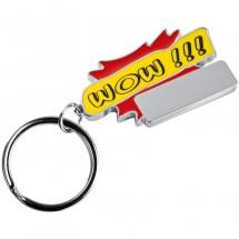 Schlüsselanhänger Wow!!! - rot