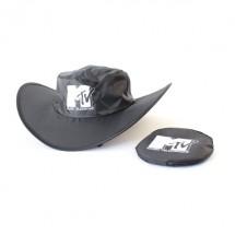 Faltbarer Cowboy-Hut -Siebdruck