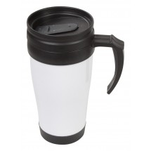 Thermo Becher ''Les 2 Alpes'' - weiss