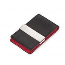 Kreditkartenetui RED PEPPER CardSaver® - rot, schwarz