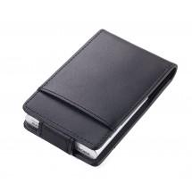 Kreditkartenetui BLACK & SILVER - schwarz, silber