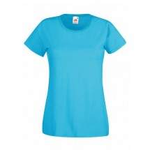 Lady-Fit Valueweight T - Azure Blue