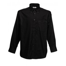 Men´s Long Sleeve Oxford Shirt - Black