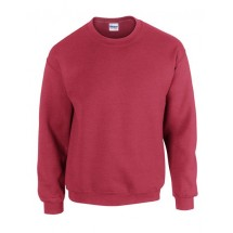 Heavy Blend? Crewneck Sweatshirt - Antique Cherry Red (Heather)