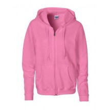 Heavy Blend? Ladies´ Full Zip Hooded Sweatshirt - Azalea