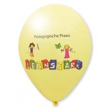 Luftballons mit High Quality Precision Print-Hellgelb