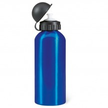 Metall Trinkflasche BISCING - blau