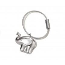Schlüsselanhänger little elephant - silber