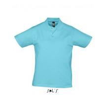 Men Polo Shirt Prescott - Atoll Blue