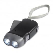 LED-Taschenlampe ROBIN - schwarz