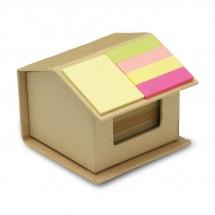 Notizzettelbox RECYCLOPAD - beige