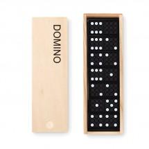 Domino Spiel DOMINO - holzfarben