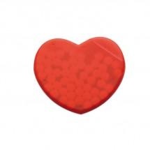 Pfefferminzspender Herz CORAMINT - rot