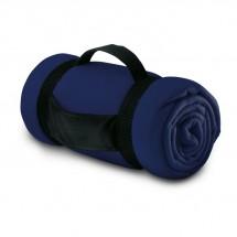 Fleece-Decke STAVENGER - blau