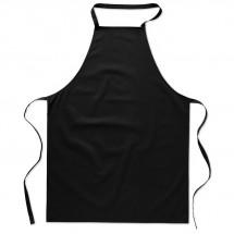 Küchenschürze aus Baumwolle KITAB - schwarz