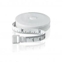 Schneidermaßband,  rund,  in inch/cm