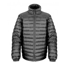 Mens Ice Bird Padded Jacket - Black