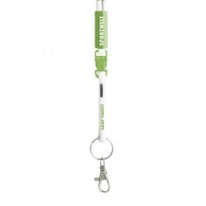 Kordel.Lanyard - PVC-Hülse / Logowebung