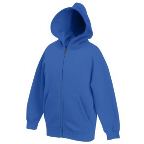 Kids Zip Through Hooded Sweat