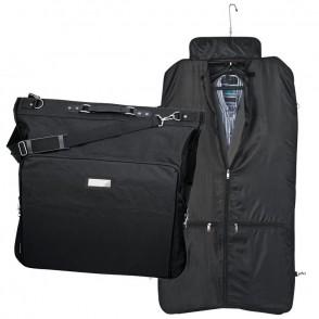 Kleidersack mit Metallschild