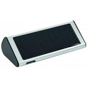 "Metmaxx® SolarCharger ""Sun&Service"" silber"