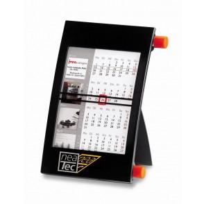 Kunststoff-Tischkalender mit individuellem Kalende
