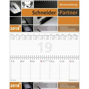 """Tischquerkalender """"Business-Premium"""""""