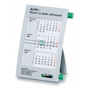 Kunststoff-Tischkalender '6-sprachig'
