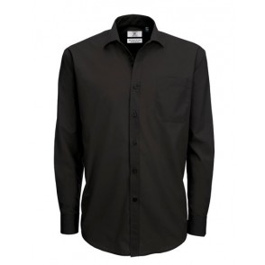 Poplin Shirt Smart Long Sleeve / Men
