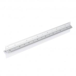 Aluminiumlineal 30 cm