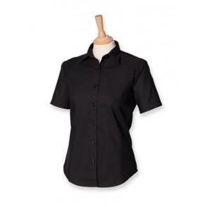Ladies Classic Short Sleeved Oxford Shirt