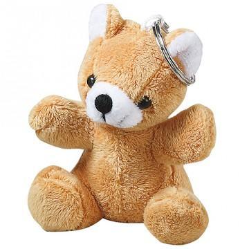 Plüsch-Teddy als Schlüsselanhänger