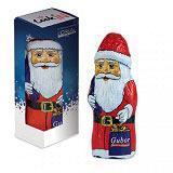 Schoko-Nikolaus mit bedruckter Verpackung