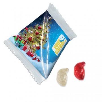 Werbemittel Fruchtgummi als Weihnachtsgeschenk