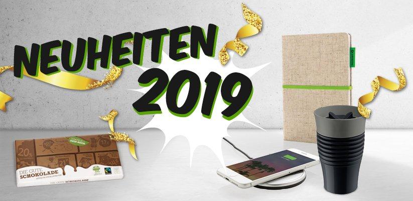 Werbeartikel Neuheiten 2019