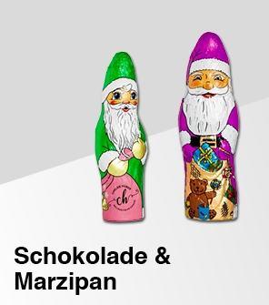 Schokolade und Marzipan Werbemittel