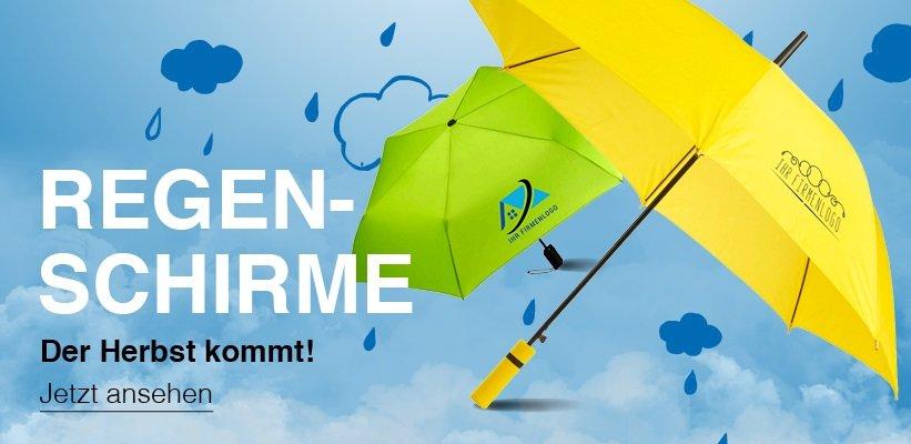 Regenschirme bedrucken