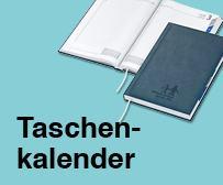 Buchkalender mit Logo
