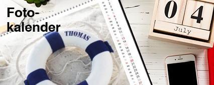 Fotokalender mit Logo